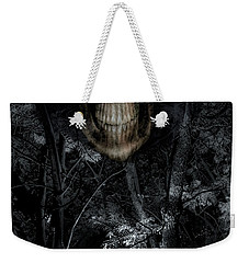 Weekender Tote Bag featuring the photograph Haunted Forest by Al Bourassa