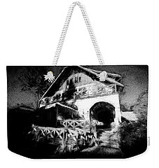 Haunted House Weekender Tote Bag by Celso Bressan