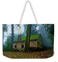 Haunted House Weekender Tote Bag by Jorge Maia