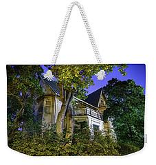 Haunted House Weekender Tote Bag by Teemu Tretjakov