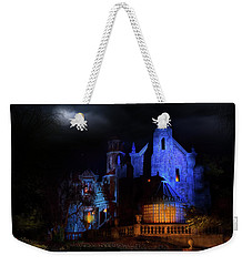 Haunted Mansion At Walt Disney World Weekender Tote Bag by Mark Andrew Thomas