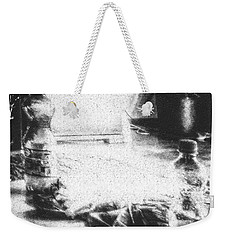 Weekender Tote Bag featuring the photograph Haunted Room I by Mimulux patricia no No