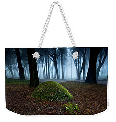 Weekender Tote Bag featuring the photograph Haunting by Jorge Maia