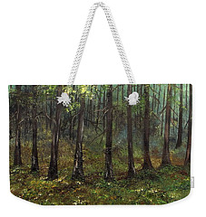 Haunting The Past Weekender Tote Bag