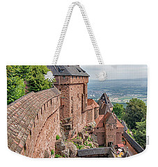 Weekender Tote Bag featuring the photograph Haut-koenigsbourg by Alan Toepfer