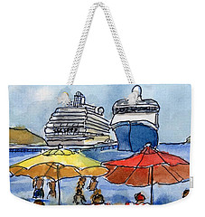 Hautuco Dock Weekender Tote Bag by Randy Sprout