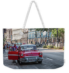 Havana Car Lover Weekender Tote Bag by David Warrington