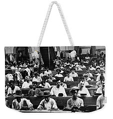 Havana Cuba - Cigars Being Rolled - C 1903 Weekender Tote Bag by International  Images