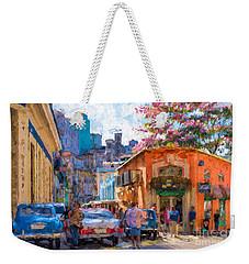 Havana In Bloom Weekender Tote Bag