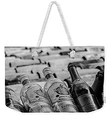Havana Rum Bottles Weekender Tote Bag by David Warrington