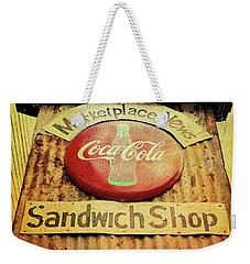 Have A Coke Weekender Tote Bag
