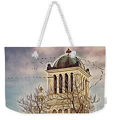 The Church On Oak Street Weekender Tote Bag