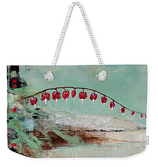 Weekender Tote Bag featuring the painting Have We Become Comfortably Numb by Frances Marino