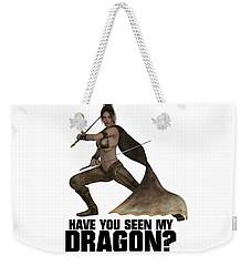 Have You Seen My Dragon? Weekender Tote Bag