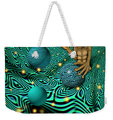 Weekender Tote Bag featuring the digital art Having A Ball by Vincent Autenrieb