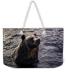 Having A Bath Weekender Tote Bag
