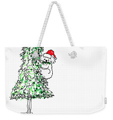 Having A Koala Christmas Weekender Tote Bag