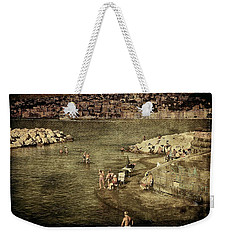 Having A Swim In Naples Weekender Tote Bag