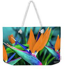 Hawaii Bird Of Paradise Flowers Weekender Tote Bag