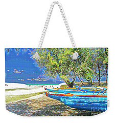 Hawaii Boats Weekender Tote Bag