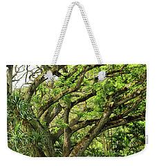 Hawaii Tree-bard Weekender Tote Bag