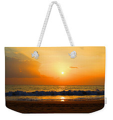Weekender Tote Bag featuring the photograph Hawaiian Beach by Michael Rucker