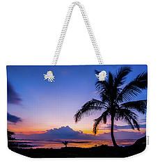 Hawaiian Dawn Colors Weekender Tote Bag