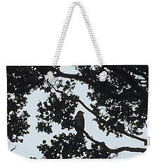 Hawaiian Hawk Silhouette  Weekender Tote Bag