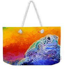 Hawaiian Honu 4 Weekender Tote Bag
