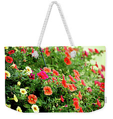 Weekender Tote Bag featuring the photograph Hawaiian Hula Lilies 308 by Ericamaxine Price