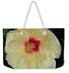 Hawaiian Hybiscus Weekender Tote Bag