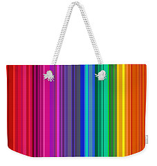 Weekender Tote Bag featuring the digital art Hawaiian Kiss by Val Arie