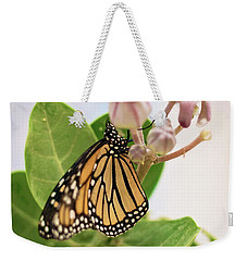 Weekender Tote Bag featuring the photograph Hawaiian Monarch by Heather Applegate
