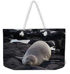 Hawaiian Monk Seal Weekender Tote Bag