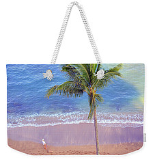 Weekender Tote Bag featuring the photograph Hawaiian Morning by Kathy Bassett