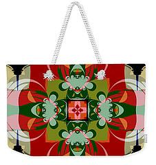 Hawaiian Quilt 22 Weekender Tote Bag