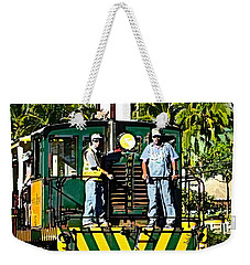 Hawaiian Railway Weekender Tote Bag