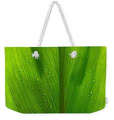 Hawaiian Ti Plant Weekender Tote Bag by Lehua Pekelo-Stearns