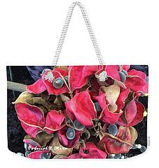Hawaiian Velvet Seed's And Any Hua Were Weke  Weekender Tote Bag