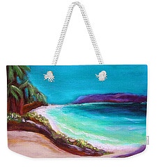 Hawaiin Blue Weekender Tote Bag
