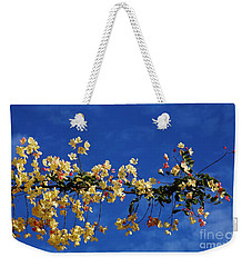 Hawaii's Rainbow Shower Tree Weekender Tote Bag by Craig Wood