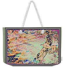 Hawk And Sky Weekender Tote Bag by YoMamaBird Rhonda