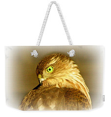 Hawk Eye Weekender Tote Bag