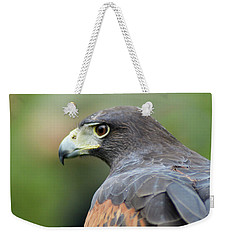 Hawk Eye Weekender Tote Bag