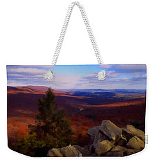 Weekender Tote Bag featuring the photograph Hawk Mountain Pennsylvania by David Dehner