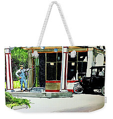 Hawkeye Oil Co Weekender Tote Bag