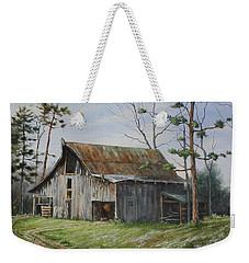 Hawks At The Barn Weekender Tote Bag