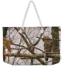 Branch Manager Weekender Tote Bag by Dennis Baswell