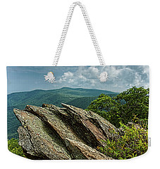 Hawksbill Mountain Weekender Tote Bag