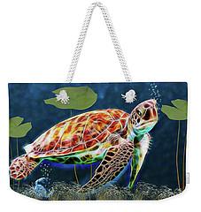 Hawksbill Sea Turtle Weekender Tote Bag